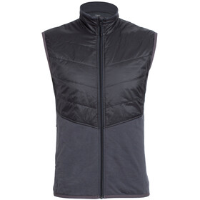 Icebreaker M's Ellipse Vest monsoon/black/black